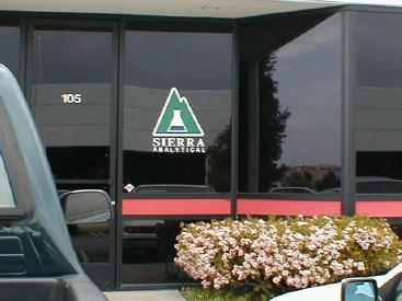 Welcome to Sierra Analytical Labs. Click Here to Take an On-line Tour.